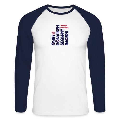 Segway_Racers_Mods - Men's Long Sleeve Baseball T-Shirt