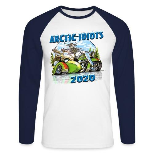 Arctic Idiots 2020 - Mannen baseballshirt lange mouw