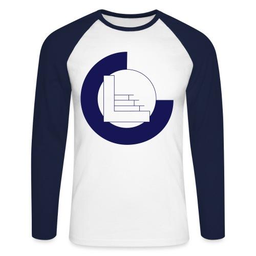 CvL Logo - Mannen baseballshirt lange mouw