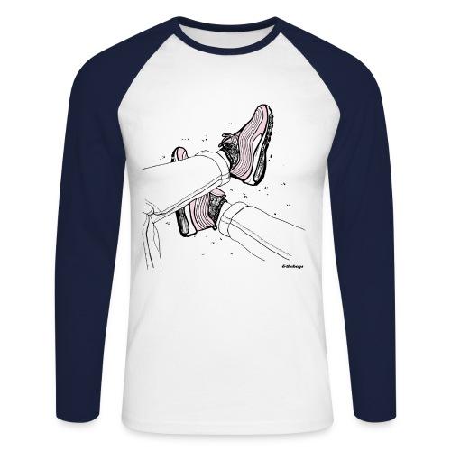 AM97 andtheboys - Koszulka męska bejsbolowa z długim rękawem