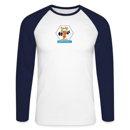 Ufficiale Logo Baby PNG senza bianco dietro png - Men's Long Sleeve Baseball T-Shirt