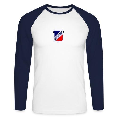 o115621 - Männer Baseballshirt langarm