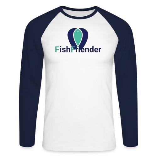 logo FF png - T-shirt baseball manches longues Homme
