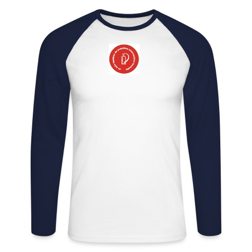 logo equipier incendie - T-shirt baseball manches longues Homme