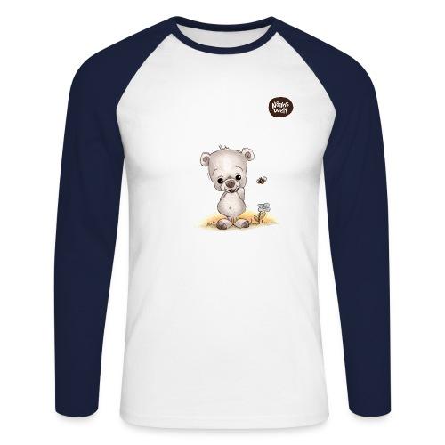 Noah der kleine Bär - Männer Baseballshirt langarm