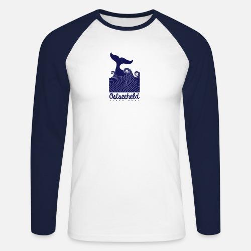 Ostseeheld - Männer Baseballshirt langarm