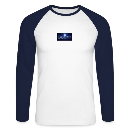BOOOM - Koszulka męska bejsbolowa z długim rękawem