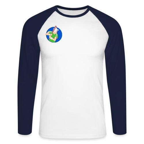 man 1082928 1280 jpg - Men's Long Sleeve Baseball T-Shirt