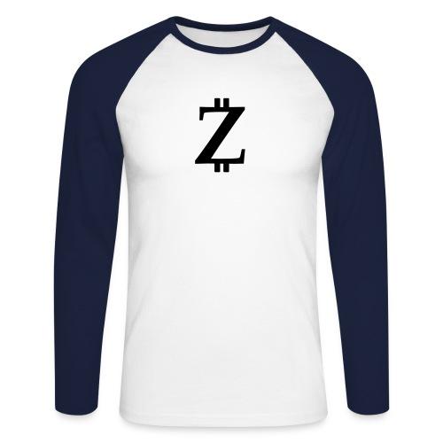 Big Z white - Men's Long Sleeve Baseball T-Shirt
