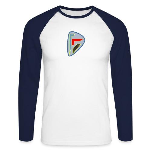 Héritique - T-shirt baseball manches longues Homme
