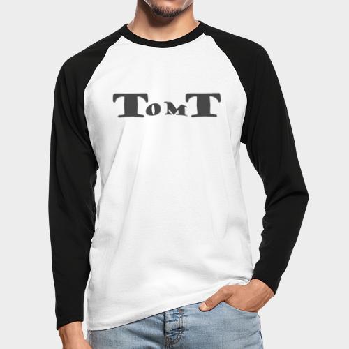 TomT design - Mannen baseballshirt lange mouw