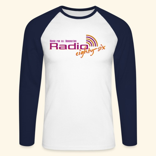 logo10000dpi - Männer Baseballshirt langarm