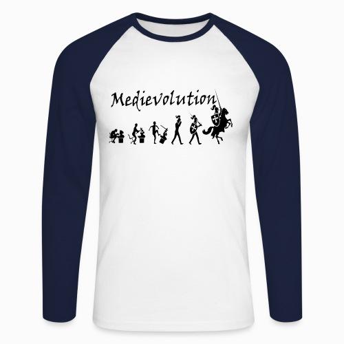 Medievolution - T-shirt baseball manches longues Homme