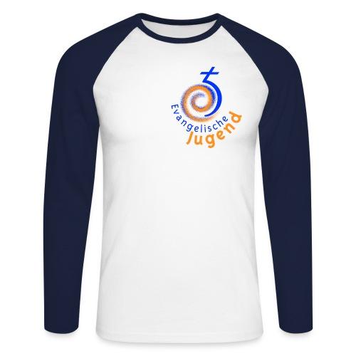 EJHN-Logo-tr2 - Männer Baseballshirt langarm