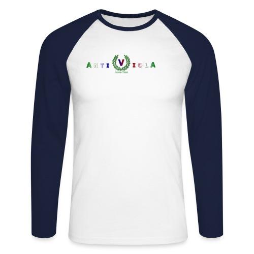 logogross - Männer Baseballshirt langarm