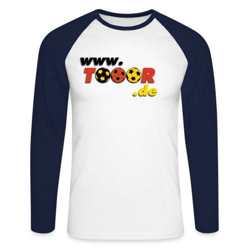 tooor logo - Männer Baseballshirt langarm