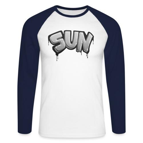 Tag Sun N&B - T-shirt baseball manches longues Homme