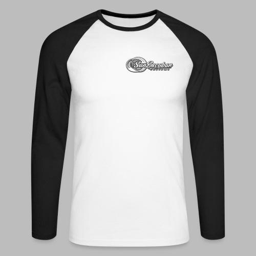 San Escobar Customs - Koszulka męska bejsbolowa z długim rękawem