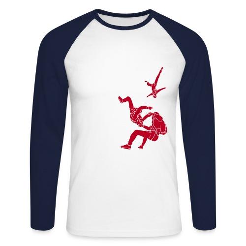 Zerofreefly - Men's Long Sleeve Baseball T-Shirt