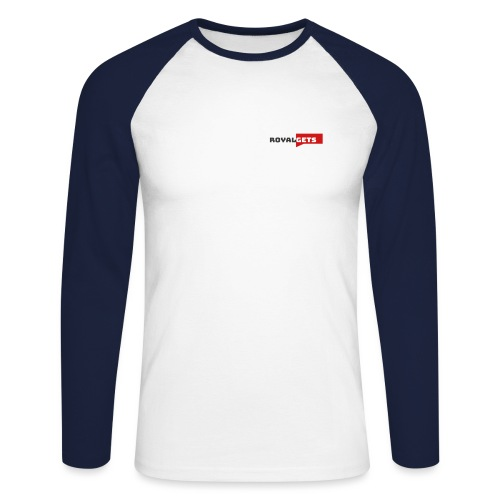 RoyalGets Marque - T-shirt baseball manches longues Homme