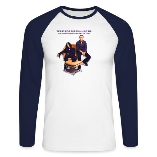 motiv 1 - Männer Baseballshirt langarm