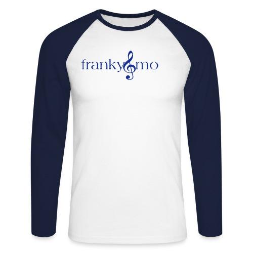 franky und mo no font - Männer Baseballshirt langarm