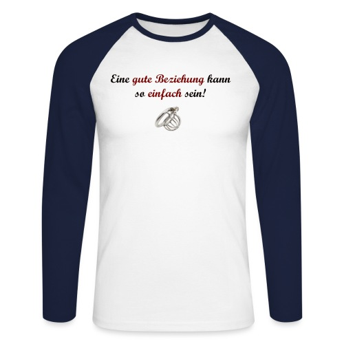 domsub-clothing.com - Men's Long Sleeve Baseball T-Shirt