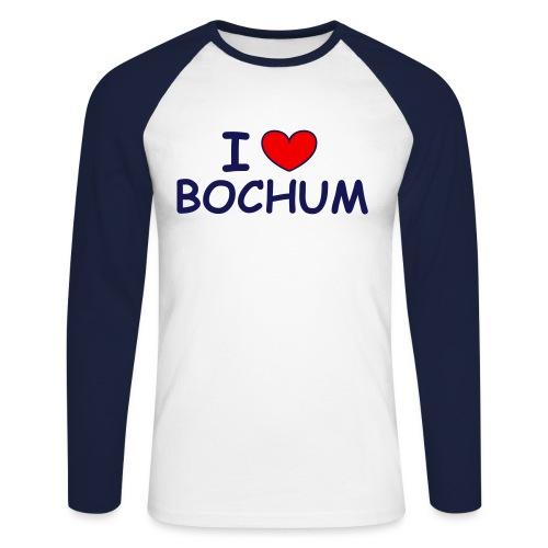 I ♥ Bochum - Männer Baseballshirt langarm