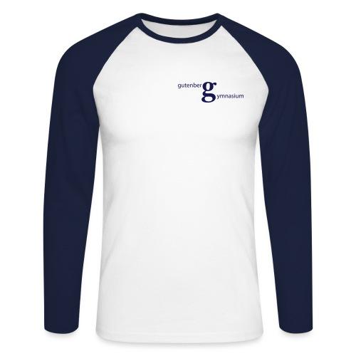 GG Logo - Männer Baseballshirt langarm