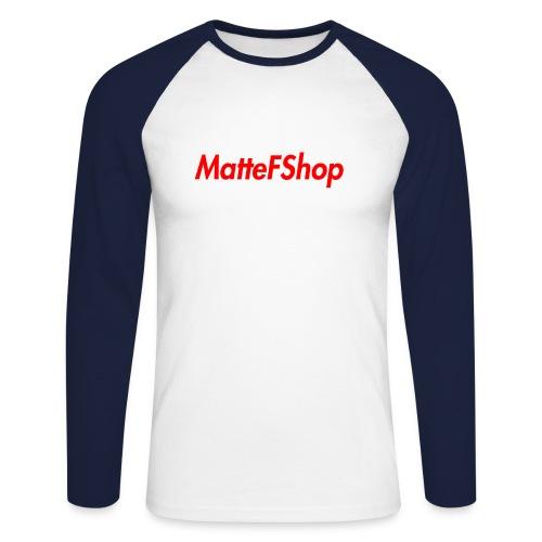 Summer Collection! (MatteFShop Original) - Maglia da baseball a manica lunga da uomo