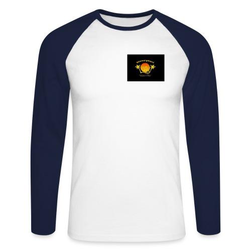neues logo - Männer Baseballshirt langarm