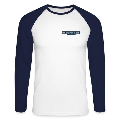2ndtrylogo - Männer Baseballshirt langarm