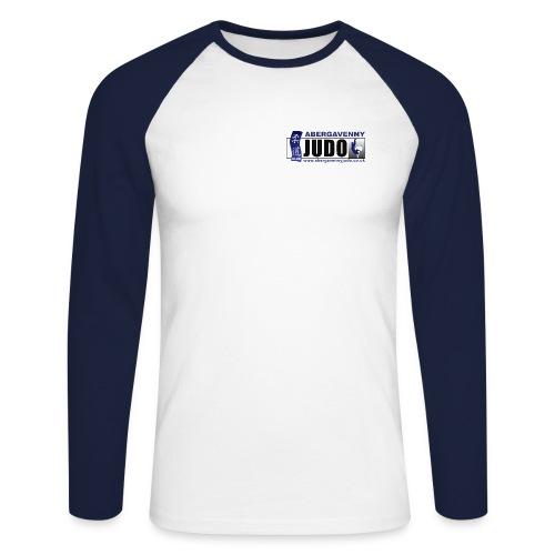 Aber JUDO 2 jpg - Men's Long Sleeve Baseball T-Shirt