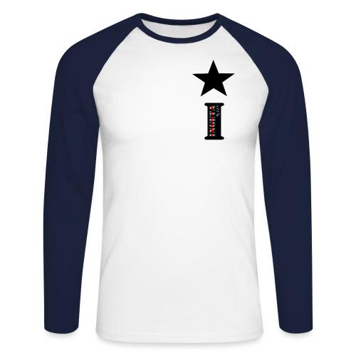 i ingeta copie4 gif - T-shirt baseball manches longues Homme