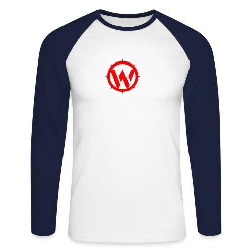 wlyp-red - Men's Long Sleeve Baseball T-Shirt