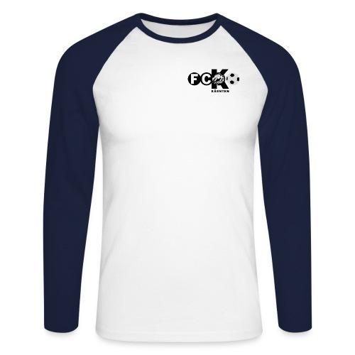fck logo final png - Männer Baseballshirt langarm