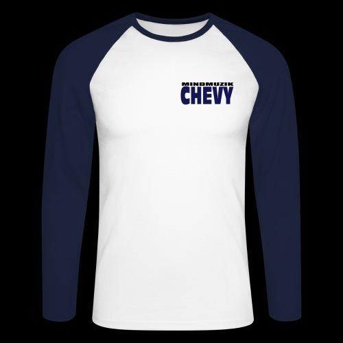 chevymmuzik2farb - Männer Baseballshirt langarm