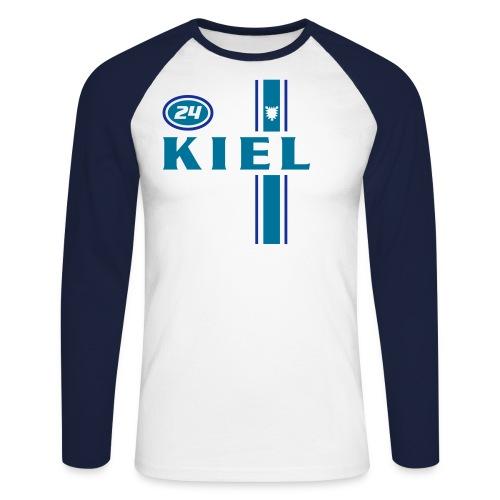 kiel racing - Männer Baseballshirt langarm