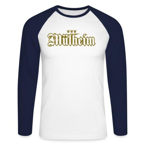 Mülheim (kölsches Veedel) - Männer Baseballshirt langarm
