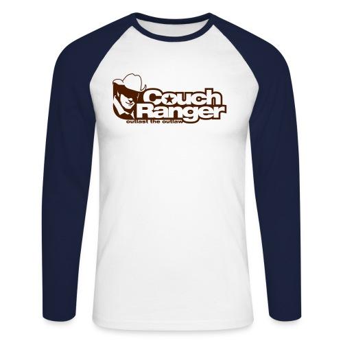 Outlast the Outlaw - Männer Baseballshirt langarm