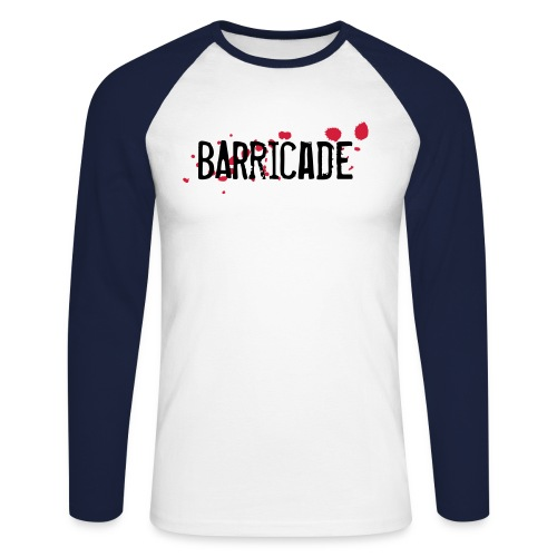 barricade tshirt - Männer Baseballshirt langarm