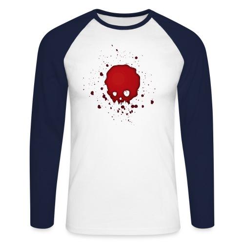 Blutschädel - Männer Baseballshirt langarm