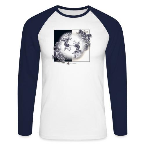 TSHIRT MUTAGENE TATOO DragKoi - T-shirt baseball manches longues Homme