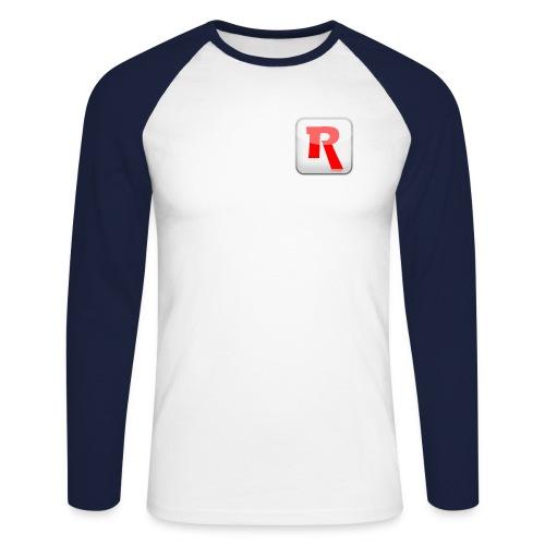 renderlights thumbred - Men's Long Sleeve Baseball T-Shirt