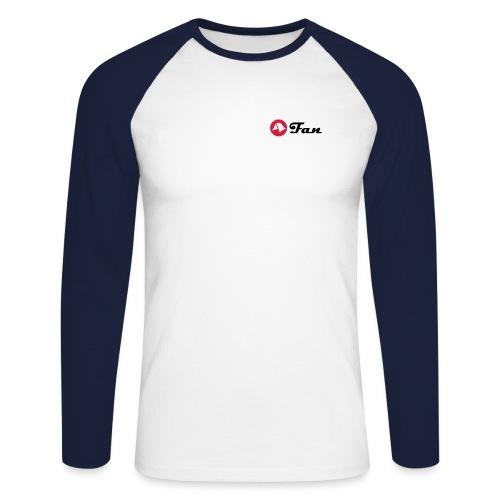 mein-zelt-steht-schon - Shirt klimaneutral (hell) - Männer Baseballshirt langarm