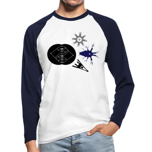 MorphoEvoDevo Special - Men's Long Sleeve Baseball T-Shirt