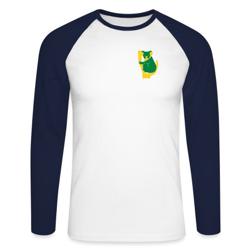 koala tree - Men's Long Sleeve Baseball T-Shirt