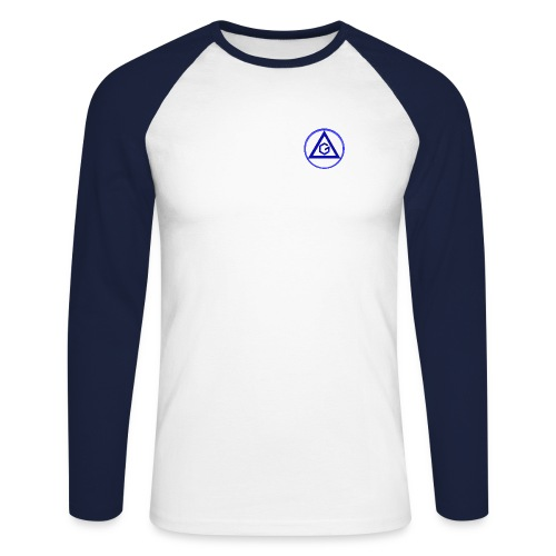 triangle g 3 - T-shirt baseball manches longues Homme