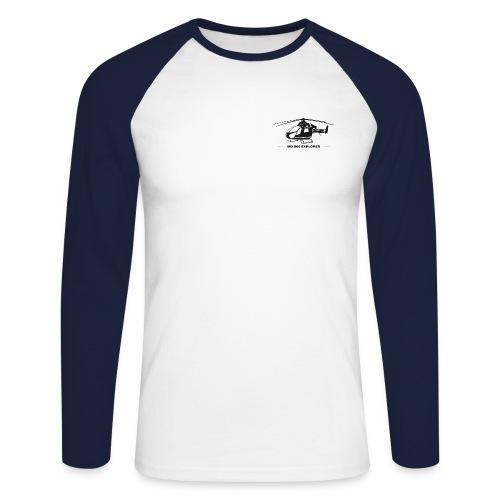 Mc Donnel Douglas MD900 Explorer - Männer Baseballshirt langarm