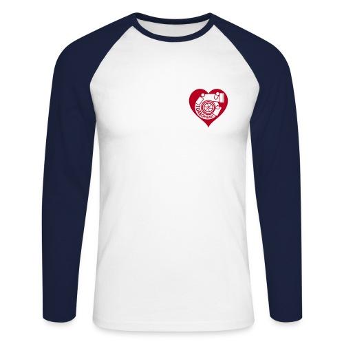turboheart - Men's Long Sleeve Baseball T-Shirt